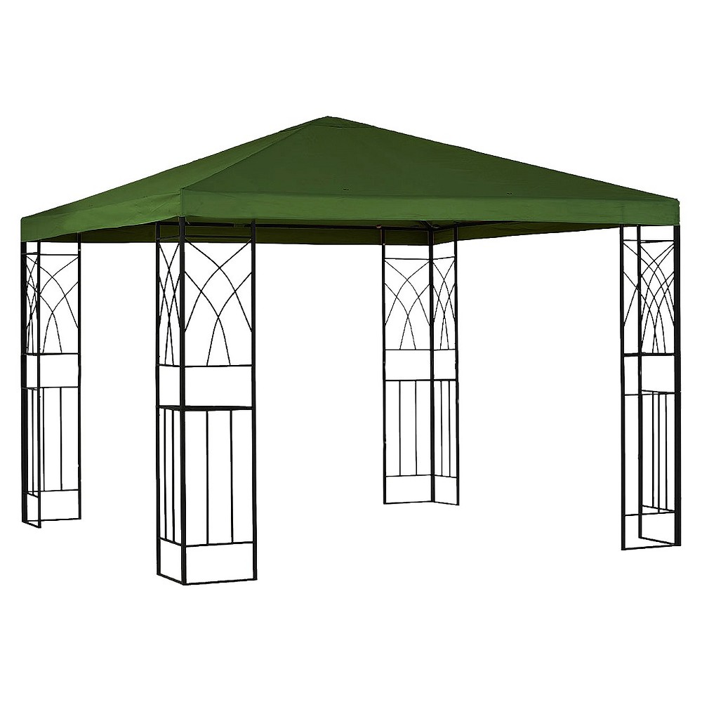 10x10' Replacement Gazebo Canopy - Green - Room Essentials