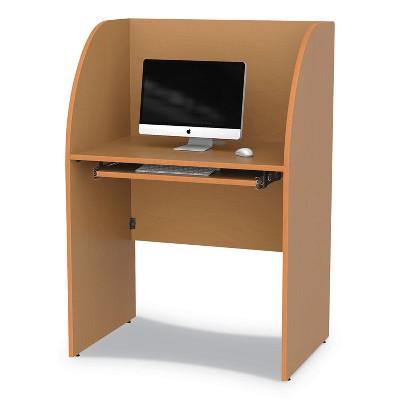 Linea Italia® Study Carrell 23 1/2w x 33d x 48 1/2h Maple SC800MAP