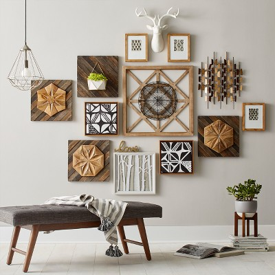 Neutral Warm Tone Gallery Wall Decor Collection : Target