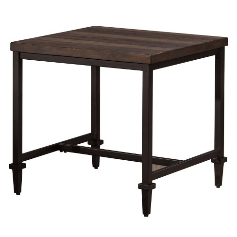 Trevino End Table Walnut Brown/Copper - Hillsdale Furniture - image 1 of 3