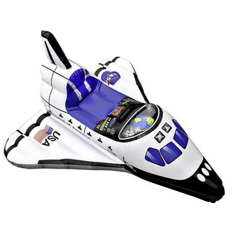 Aeromax Jr. Space Explorer Inflatable Space Shuttle - image 1 of 1