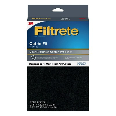 Filtrete Odor Reduction Carbon Pre-Filter Room Air Purifier Filter