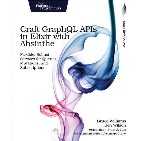 Craft Graphql APIs in Elixir with Absinthe - by  Bruce Williams & Ben Wilson (Paperback) - image 1 of 1