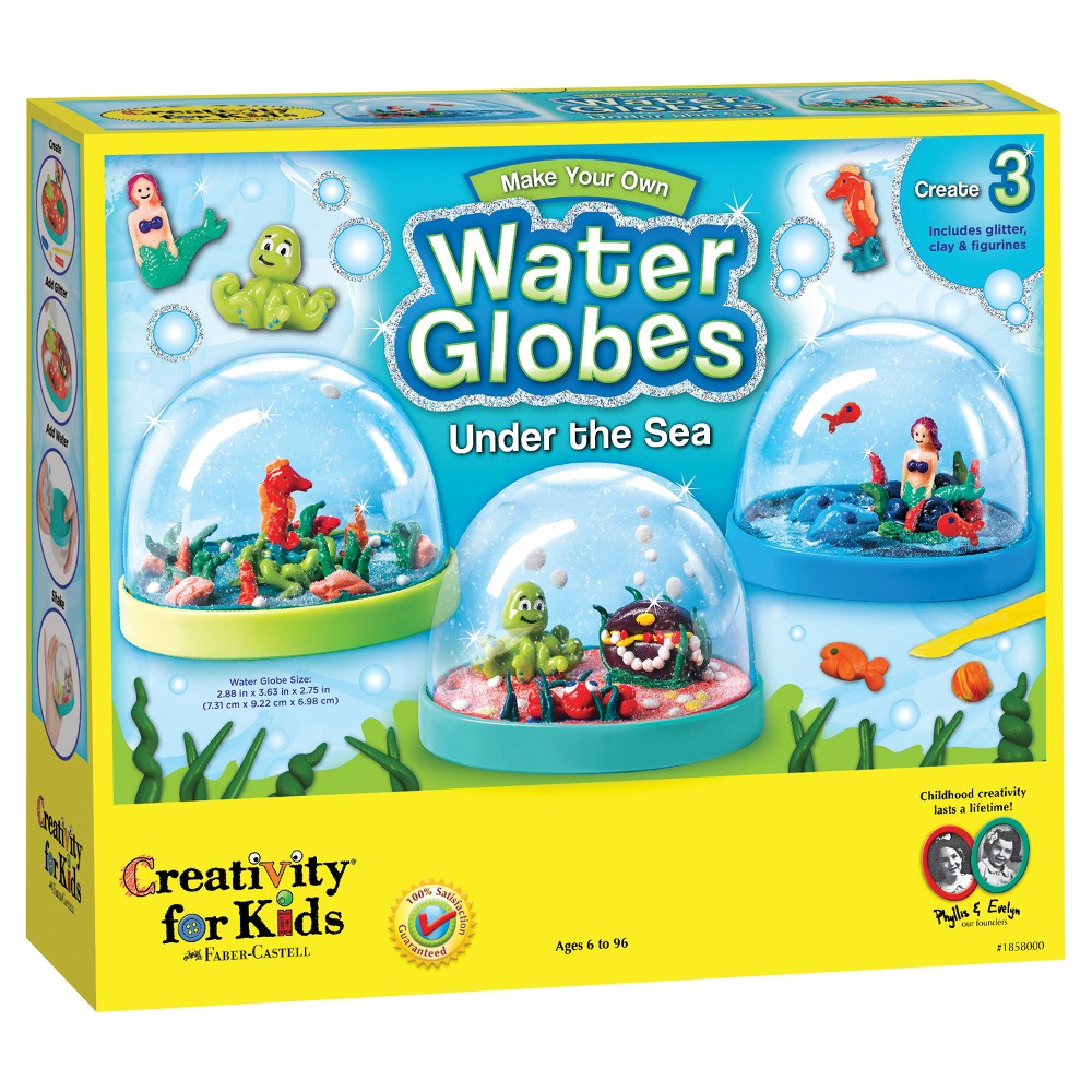 Creativity for Kids Undersea Waterglobes