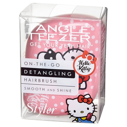 Tangle Teezer Compact Styler Hello Kitty Hair Brush Pink - image 1 of 3