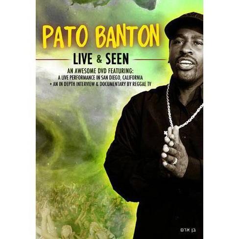 Pato Banton: Live & Seen (DVD) - image 1 of 1