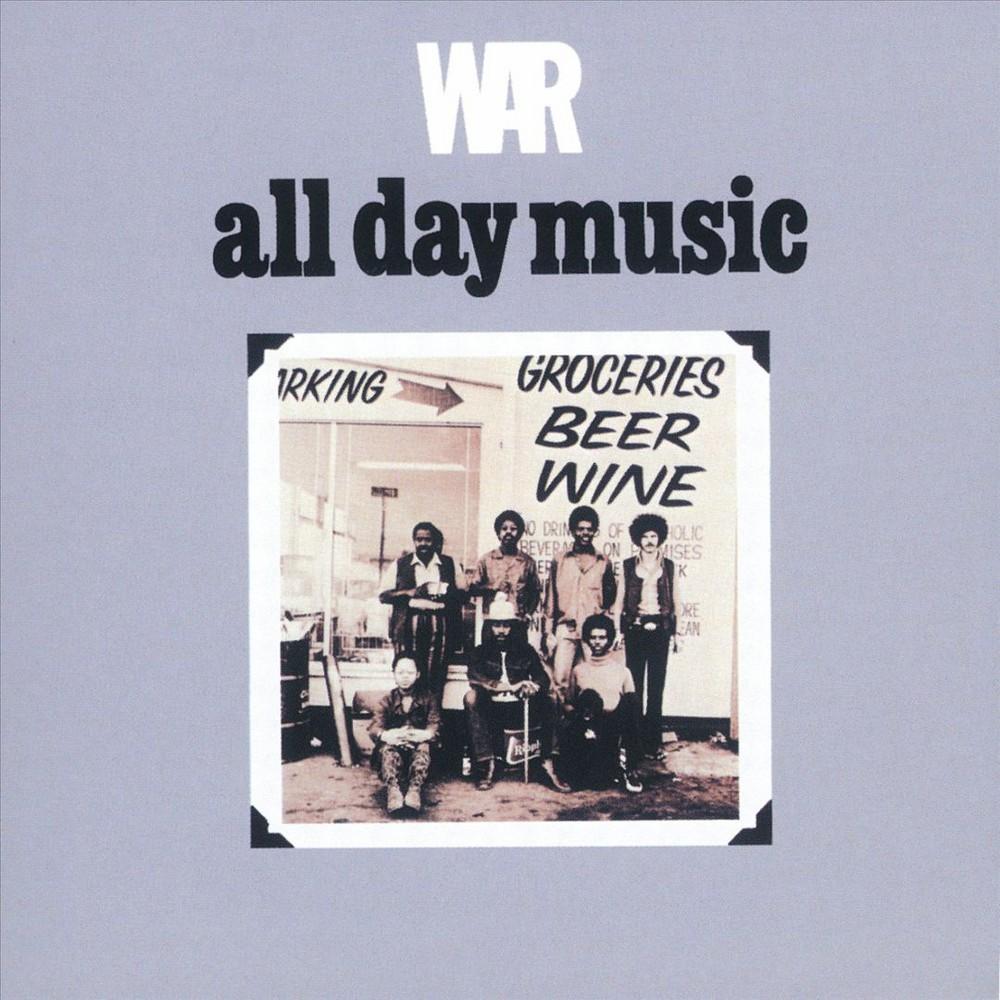 War - All Day Music (CD), Pop Music