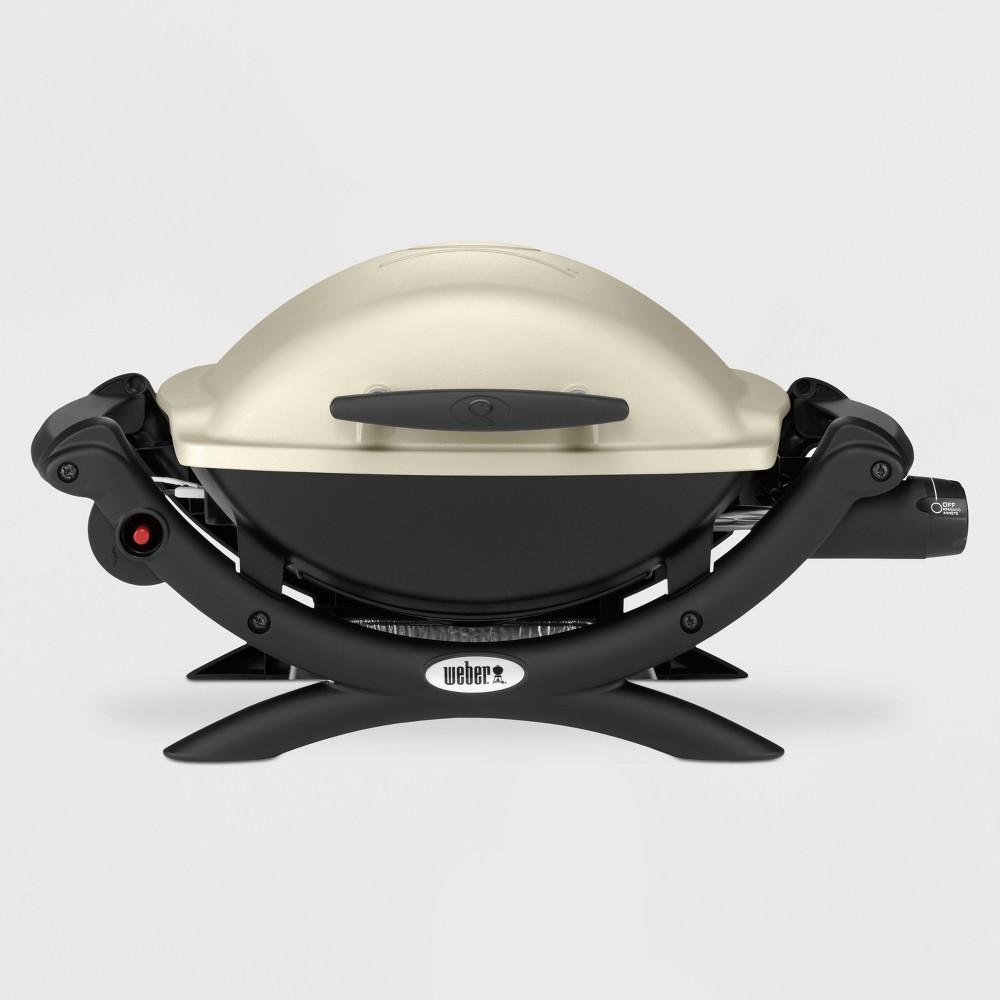 Weber Q 1000 Gas Grill, Grey 14772082