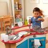 Melissa & Doug Cook's Corner Wooden Kitchen Pretend Play Set - image 3 of 4