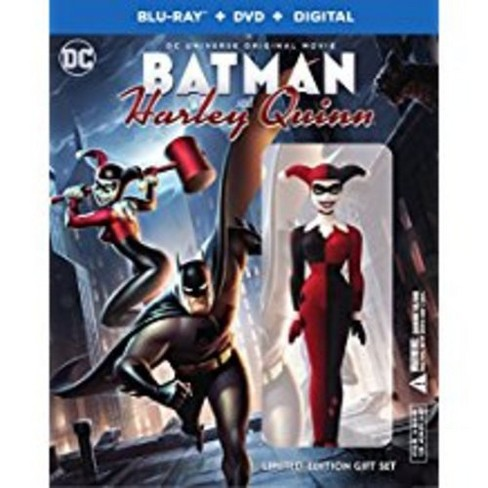 Dcu Batman And Harley Quinn Deluxe Edition Blu Ray Dvd Target