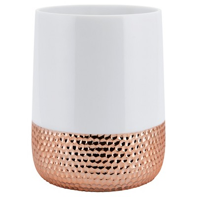 Resin Titus Wastebasket Rose Gold - Allure®