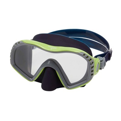 Speedo Junior Windward Swim Mask - Lime/Clear