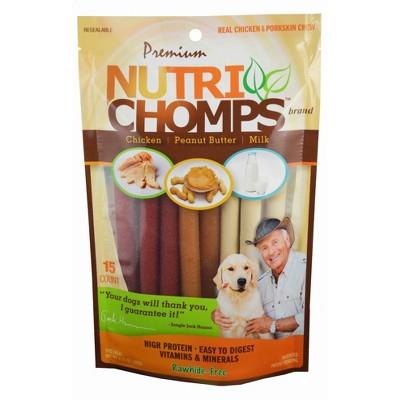 Nutri Chomps Assorted Flavor Mini Twist - 15ct