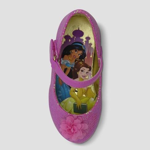 Toddler Girls  Disney Princess Dress Ballet Flats - Pink   Target 22fee9275