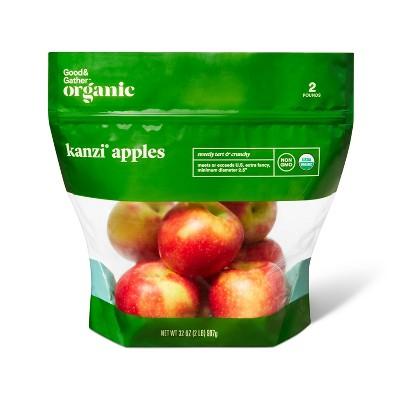 Organic Kanzi Apples - 2lb Bag - Good & Gather™