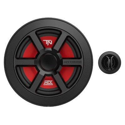MTX Terminator 6.5 Inch Woofer Cone Component Speaker Pair with 45 Watt RMS