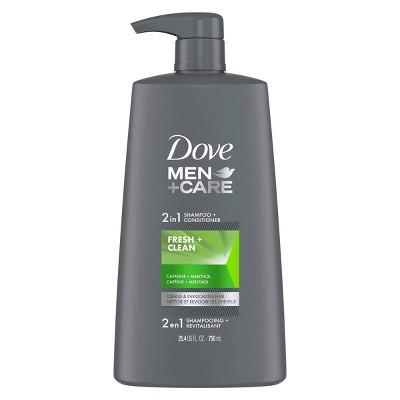 Dove Men + Care Fresh & Clean 2-in-1 Shampoo & Conditioner - 25.4 fl oz
