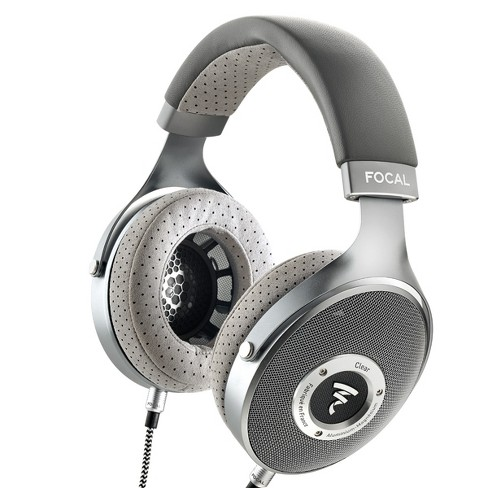 Focal CLEAR Over-Ear High-Resolution Audiophile Headphones (Gray) - image 1 of 4