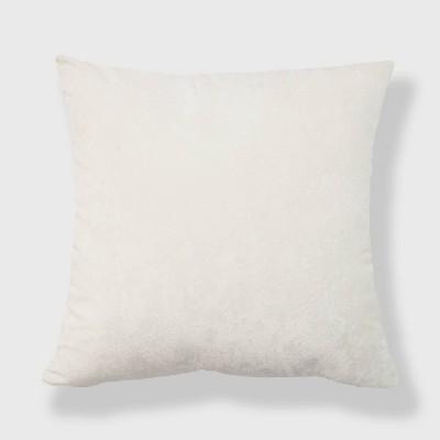 "20""x20"" Oversize Soft Crushed Velvet Square Throw Pillow - freshmint"