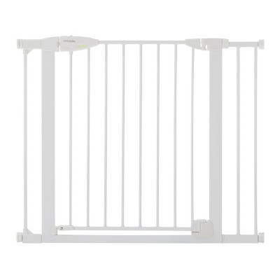 "Toddleroo by North States Bright Choice Auto-Close Baby Gate - White -  29.75""-40.5"" Wide"