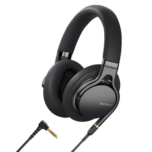 Sony MDR1AM2B Wired High-Resolution Audio Over-Ear Headphones with Built-In Remote and Microphone - image 1 of 4