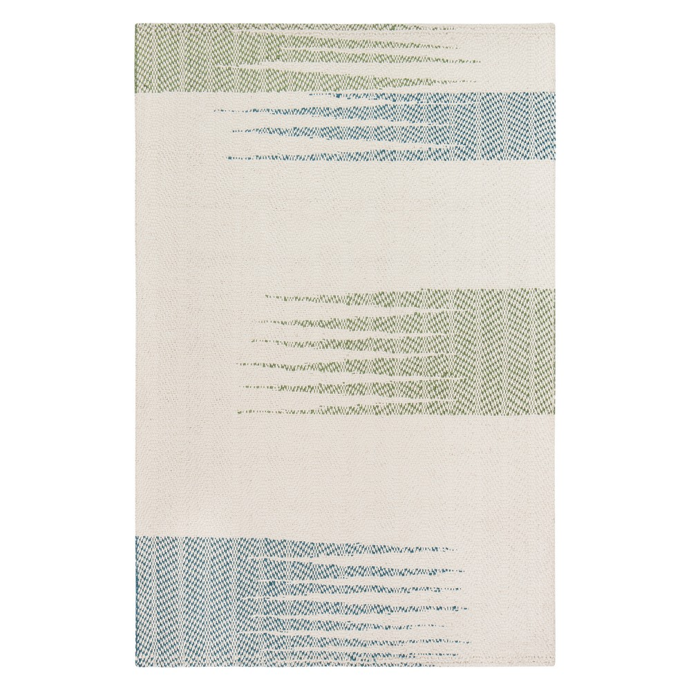 8'X10' Shapes Woven Area Rug Neutral - Anji Mountain, Beige
