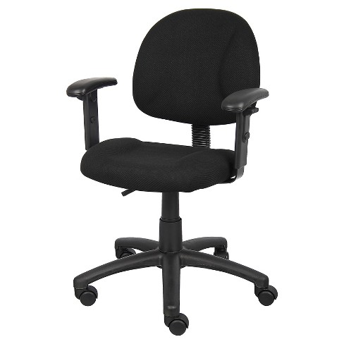 Deluxe Posture Chair with Adjustable Arms - Boss Office Products - image 1 of 4