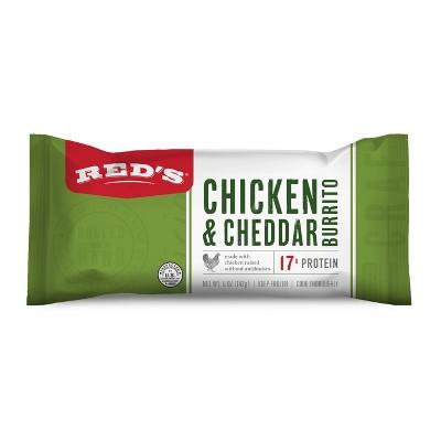 Red's Frozen Chicken & Cheese Burrito - 5oz
