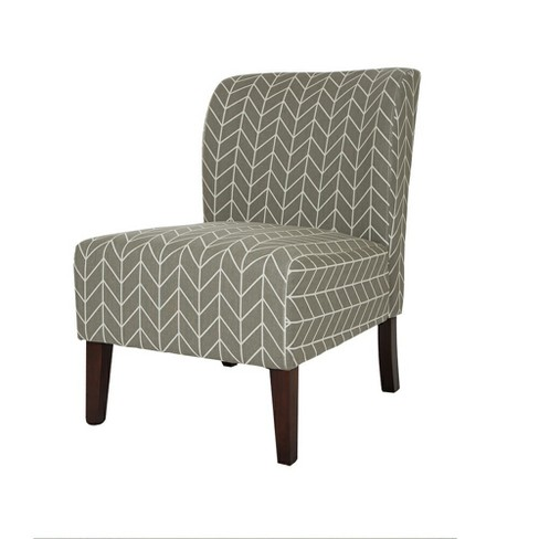 Astonishing Herringbone Upholstered Accent Chair Gray Glitzhome Andrewgaddart Wooden Chair Designs For Living Room Andrewgaddartcom