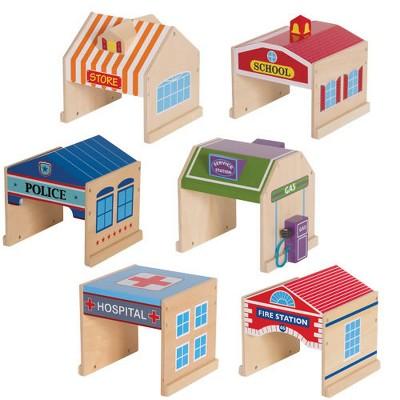 Guidecraft Community Buildings