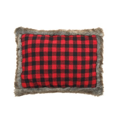 C&F Home Buffalo Check Pillow