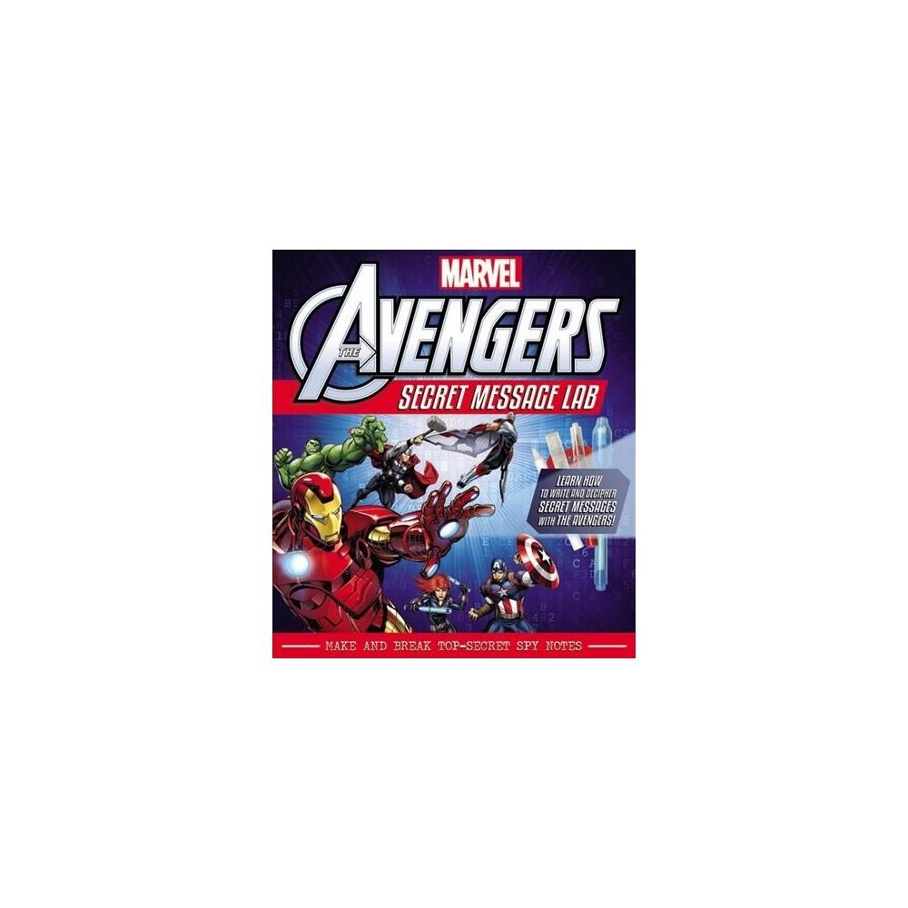 Marvel The Avengers Secret Message Lab : Make and Break Top-secret Spy Notes - Pap/Toy (Paperback)