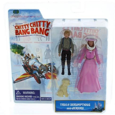 Stevenson Entertainment Chitty Chitty Bang Bang 2 Pack Figure Truly Scrumptious & Jeremy Potts - image 1 of 3