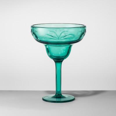 Plastic Margarita Glass 14oz Green - Opalhouse™