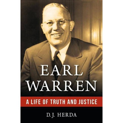Earl Warren - by  D J Herda (Hardcover) - image 1 of 1