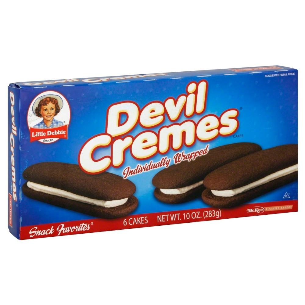 Little Debbie Devil Cream Cakes - 10 oz