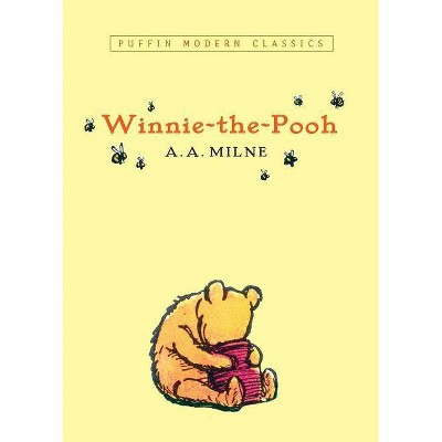Winnie-The-Pooh (Puffin Modern Classics)- by A A Milne (Paperback)