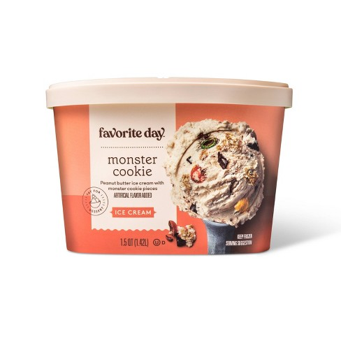 Monster Cookie Ice Cream - 48oz - Favorite Day™ - image 1 of 4