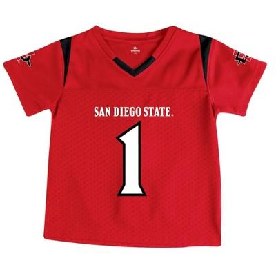 NCAA San Diego State Aztecs Toddler Boys' Short Sleeve Jersey