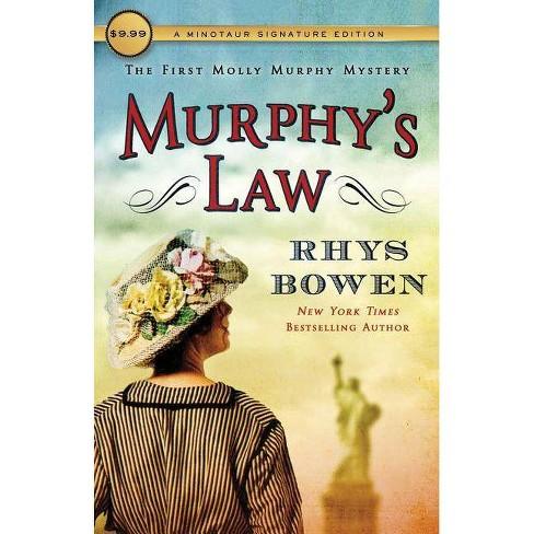Murphy's Law - (Molly Murphy Mysteries) by  Rhys Bowen (Paperback) - image 1 of 1