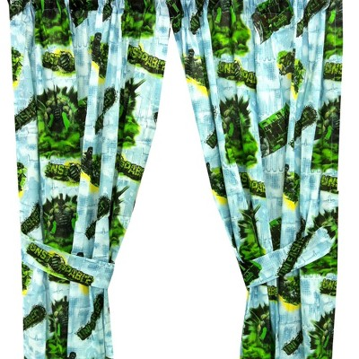 Incredible Hulk Unleashed Window Curtains - Marvel..