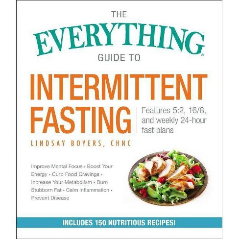 The Everything Guide to Intermittent Fasting - (Everything(r))by  Lindsay Boyers (Paperback) - image 1 of 1