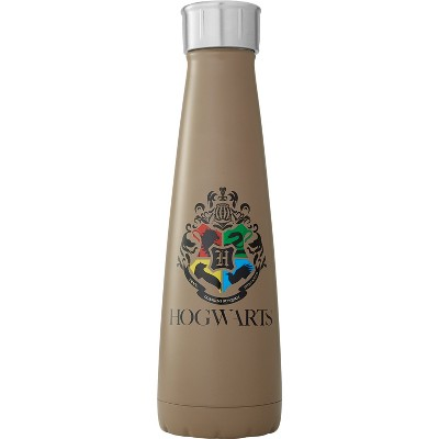 Harry Potter S'ip by S'well 15oz Stainless Steel Hogwarts Water Bottle Brown