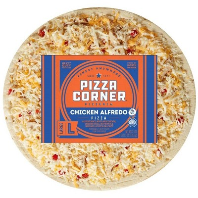 Pizza Corner Chicken Alfredo Frozen Pizza - 27.5oz