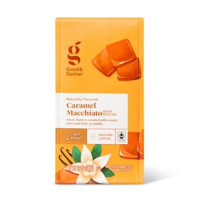 Naturally Flavored Caramel Macchiato Light Roast Ground Coffee - 12oz - Good & Gather™