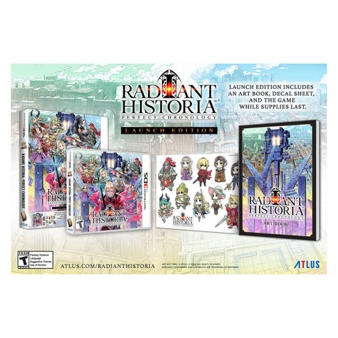 Radiant Historia: Perfect Chronology - Nintendo 3DS - image 1 of 4