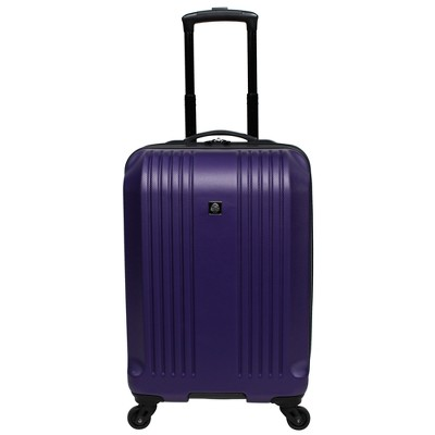 Skyline 22  Hardside Spinner Carry On Suitcase - Purple