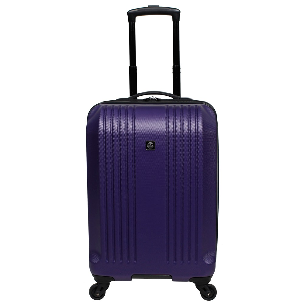 Skyline 22 Hardside Spinner Carry On Suitcase - Purple