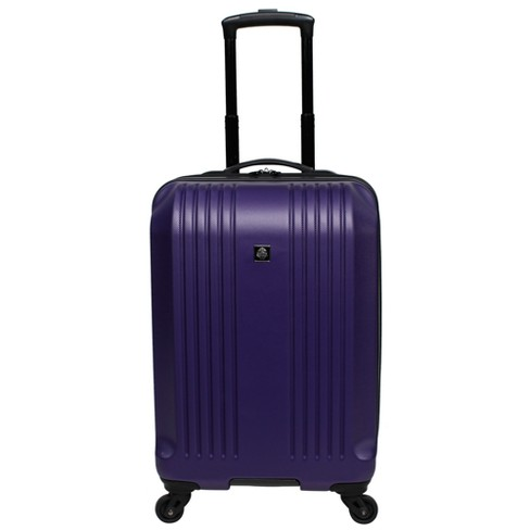 "Skyline 22"" Hardside Spinner Carry On Suitcase - Purple - image 1 of 4"