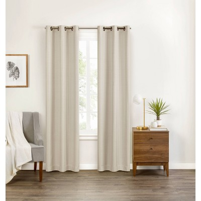 "84""x40"" Celeste Draft Stopper Blackout Curtain Panel - Eclipse"